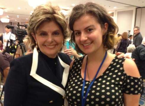 Award recipient Gloria Allred and Xochi Maberry-Gaulke